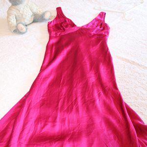 Carmen Marc Valvo Fuschia Dress
